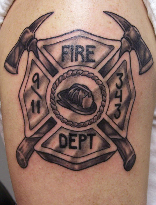 firefighter tattoos photo - 5