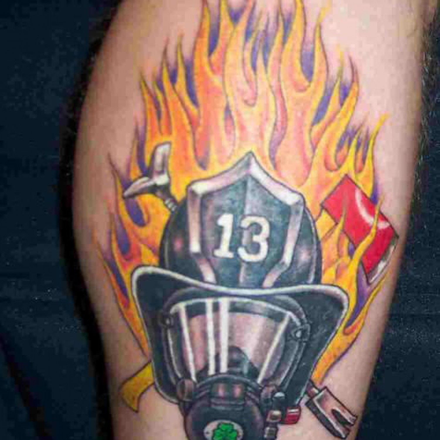 firefighter tattoos photo - 8