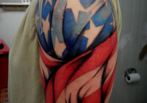 flag tattoos photo - 20