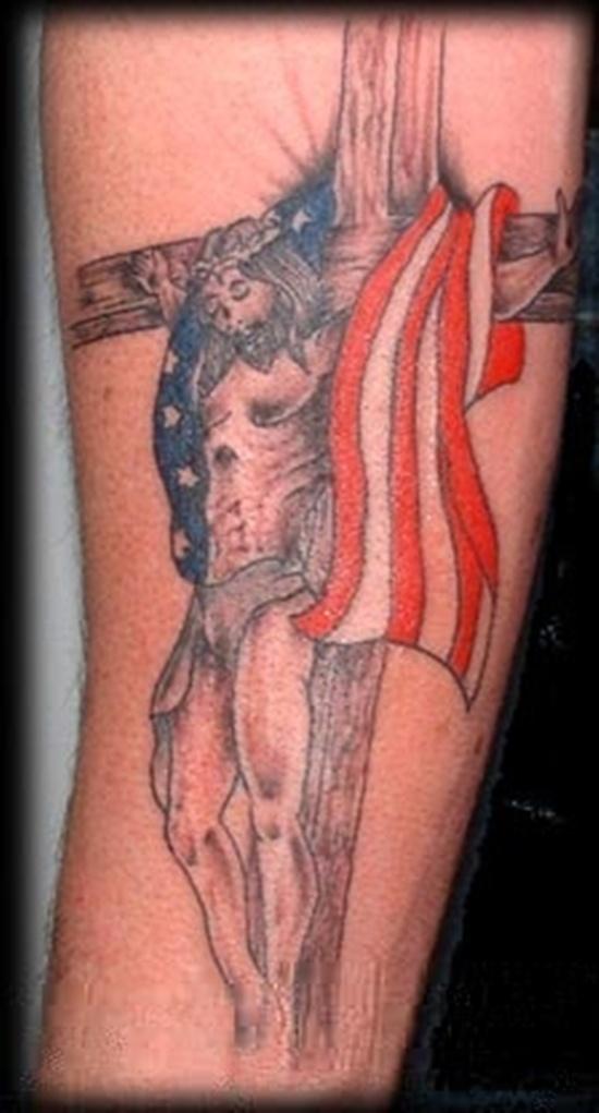 flag tattoos photo - 23