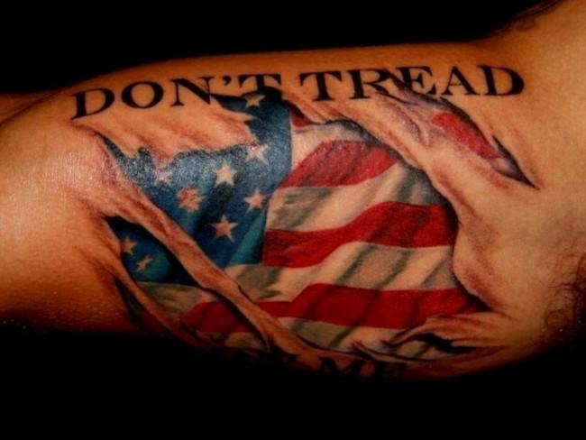 flag tattoos photo - 24