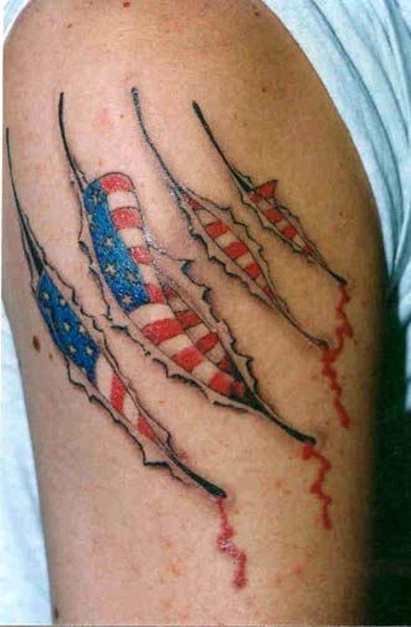 flag tattoos photo - 25