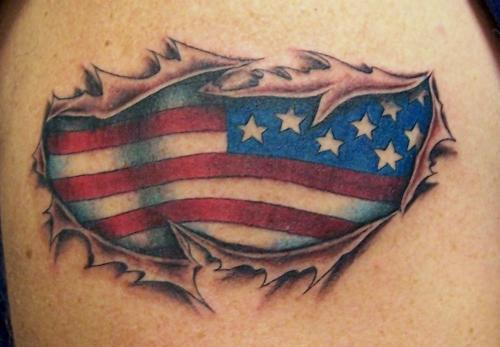 flag tattoos photo - 26