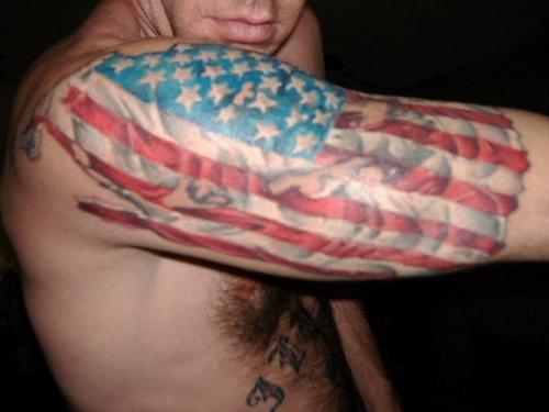 flag tattoos photo - 32