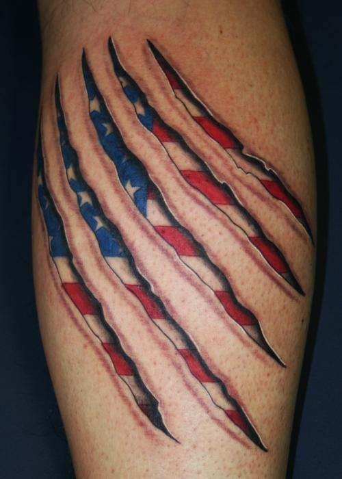 flag tattoos photo - 4