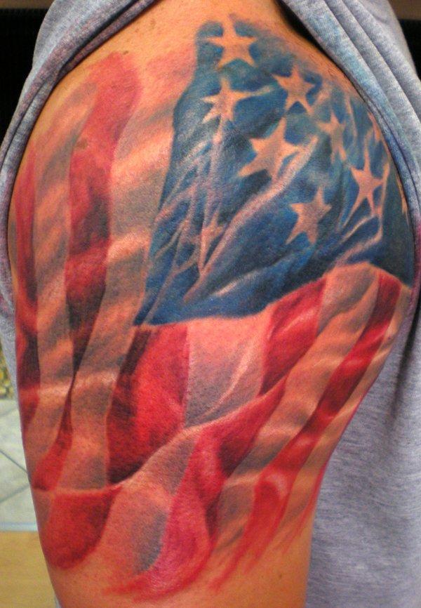 flag tattoos photo - 9