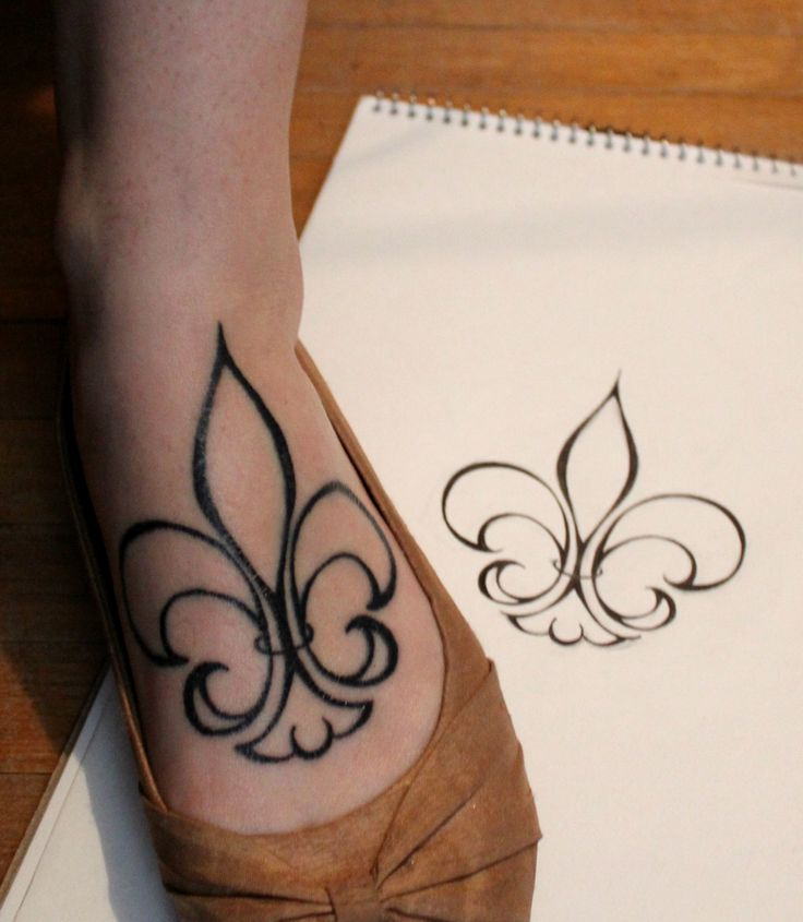 fleur de lis tattoos photo - 11