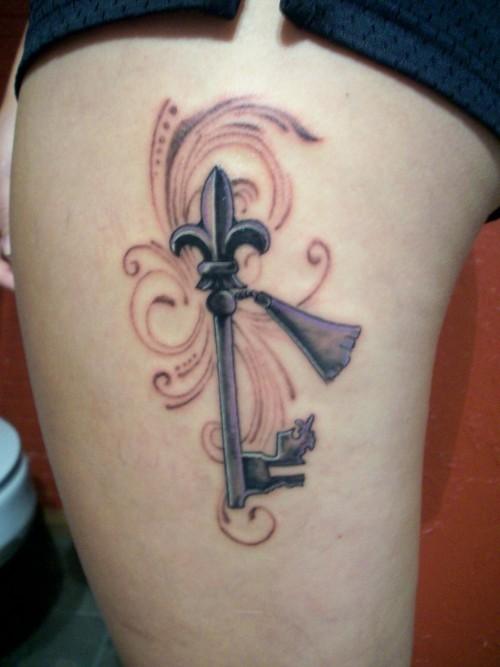 fleur de lis tattoos photo - 7