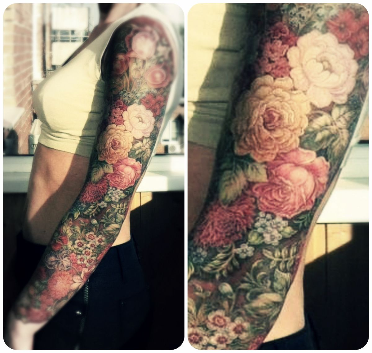 floral tattoos photo - 1