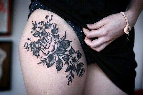 floral tattoos photo - 10