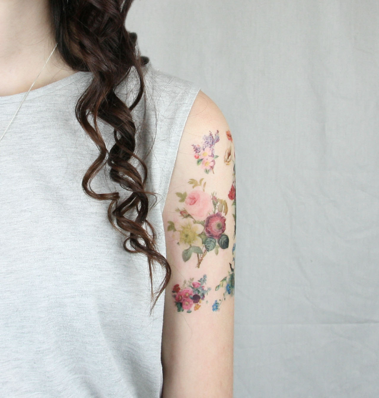 floral tattoos photo - 11