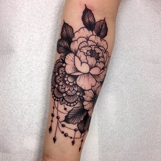 floral tattoos photo - 15