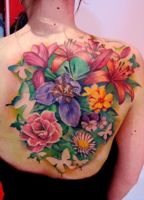 floral tattoos photo - 20