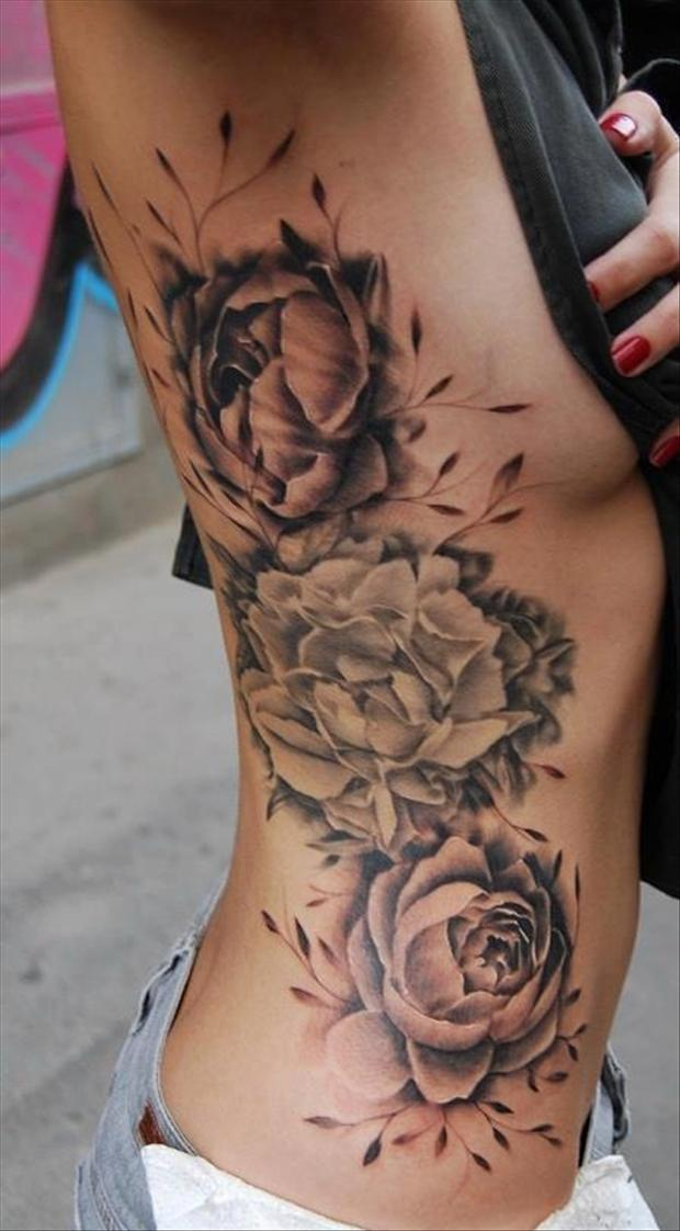 floral tattoos photo - 21