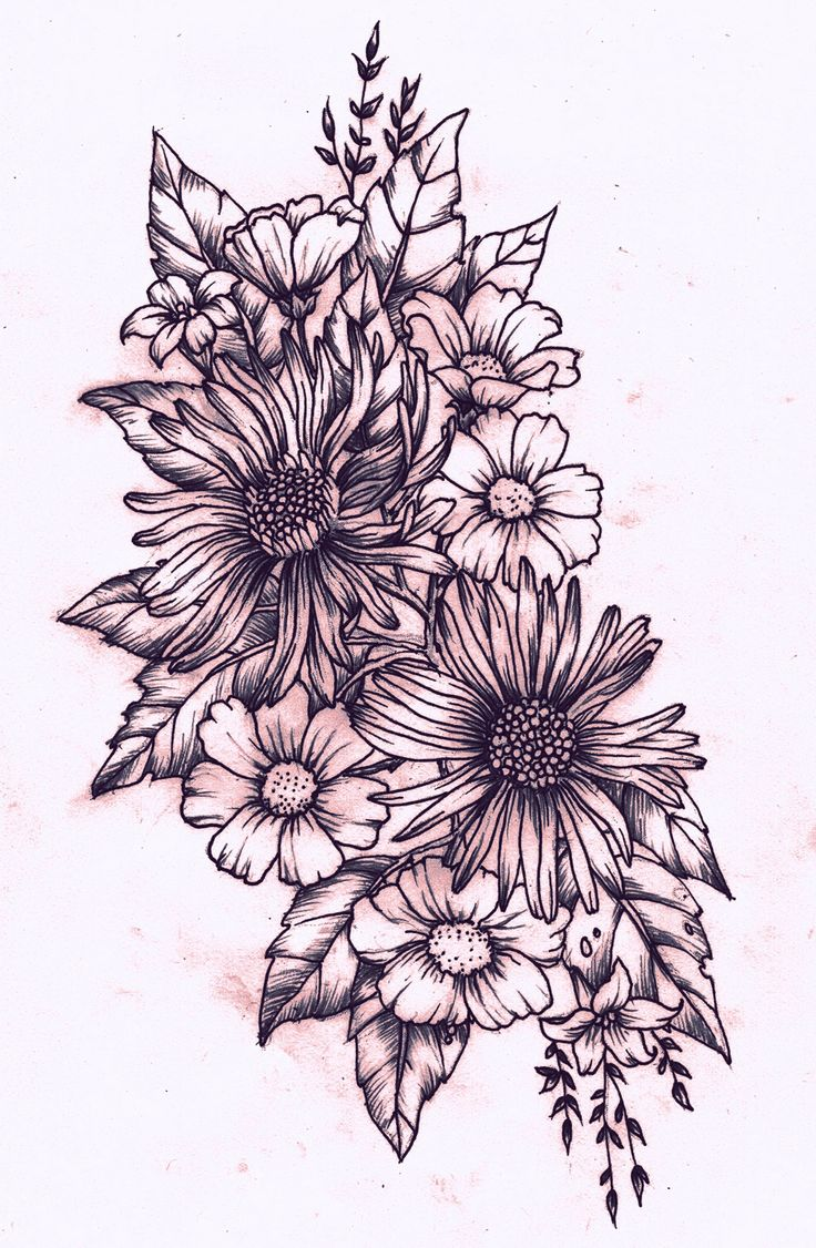 floral tattoos photo - 26
