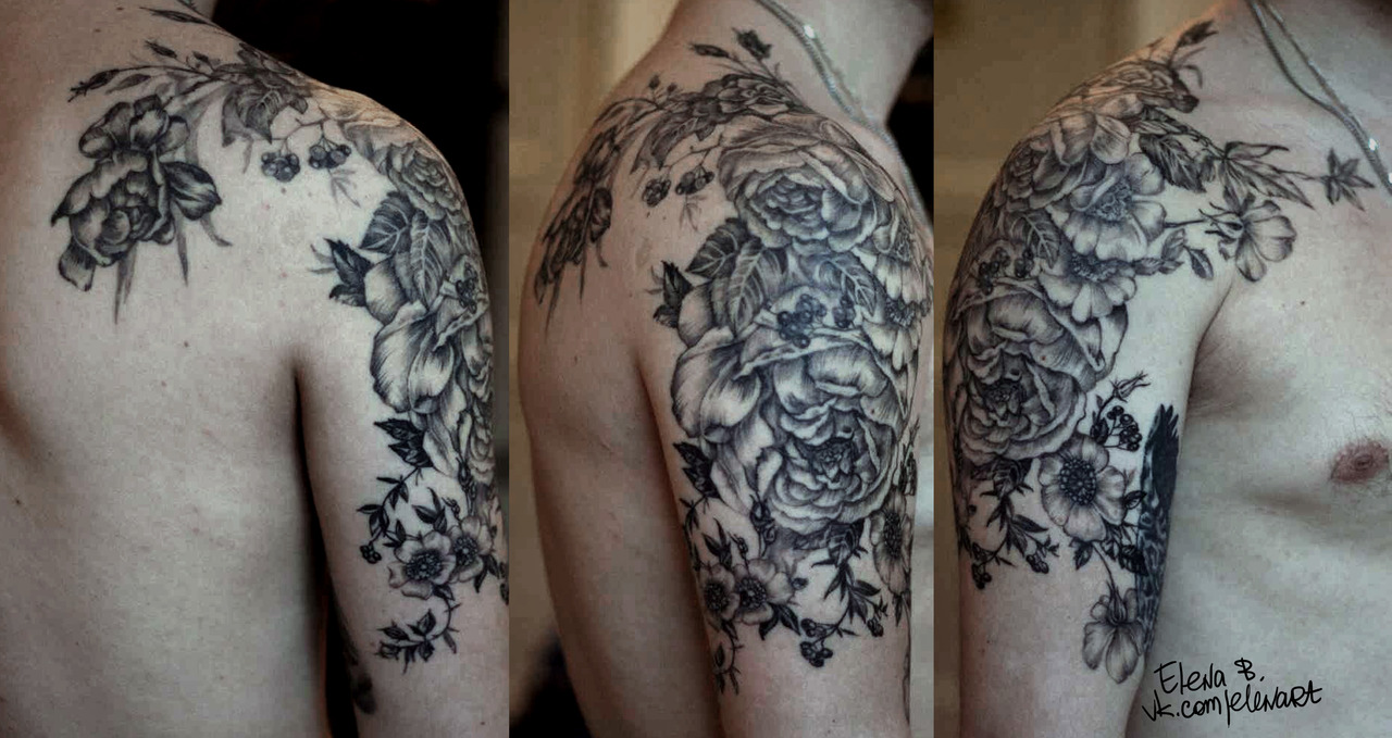 floral tattoos photo - 29