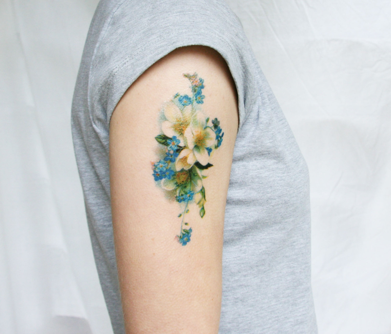 floral tattoos photo - 31