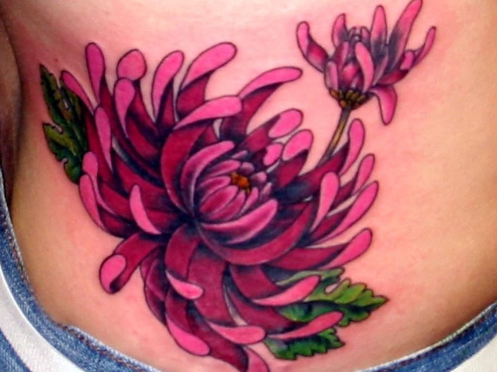 flower tattoos photo - 1