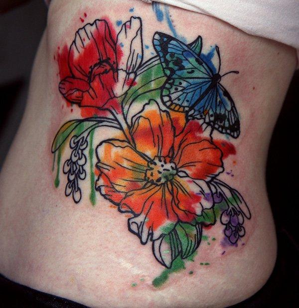 flower tattoos photo - 10
