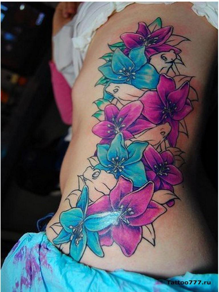 flower tattoos photo - 11