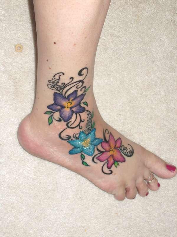 flower tattoos photo - 16