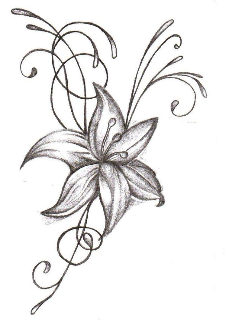flower tattoos photo - 19