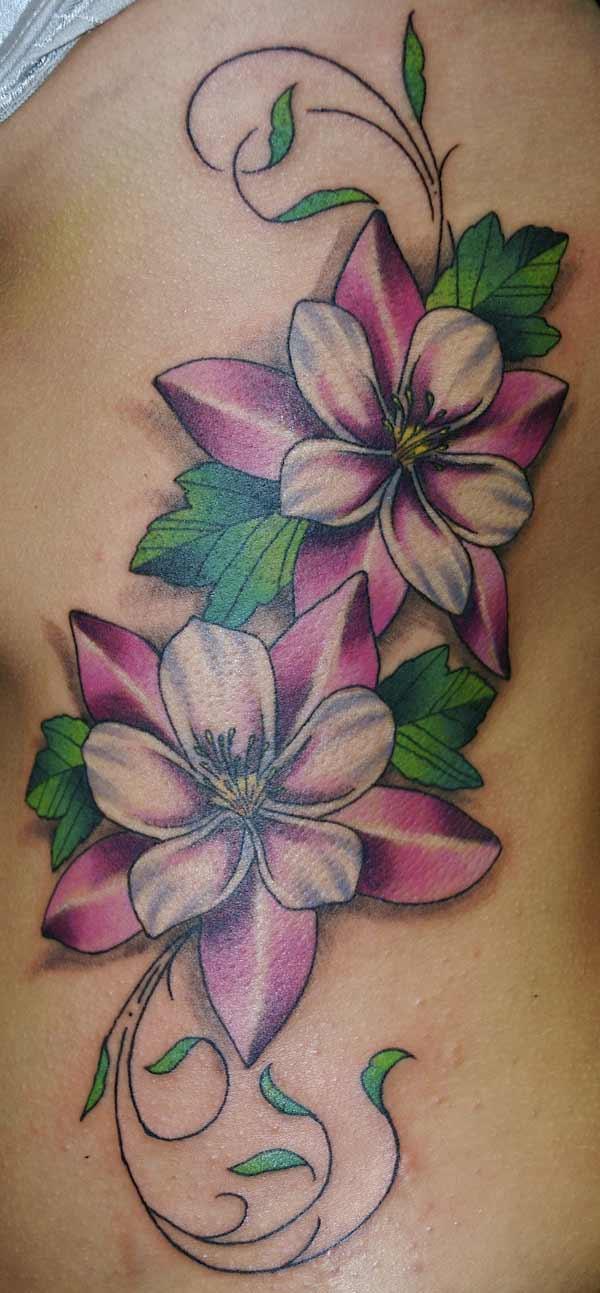 flower tattoos photo - 20