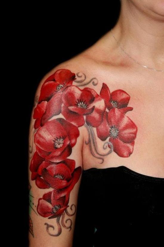 flower tattoos photo - 25