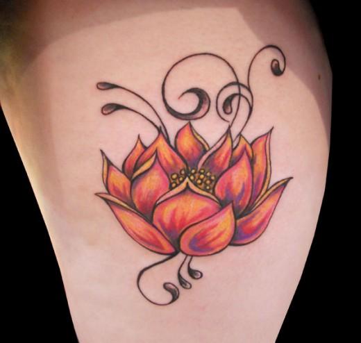 flower tattoos photo - 5
