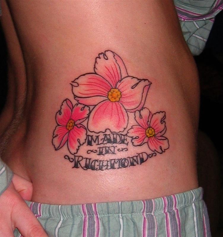 flower tattoos photo - 9