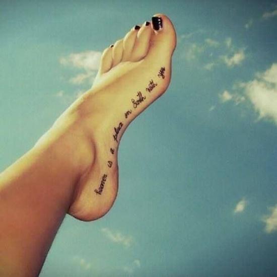 foot tattoos photo - 11