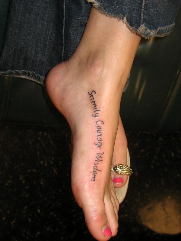 foot tattoos photo - 2