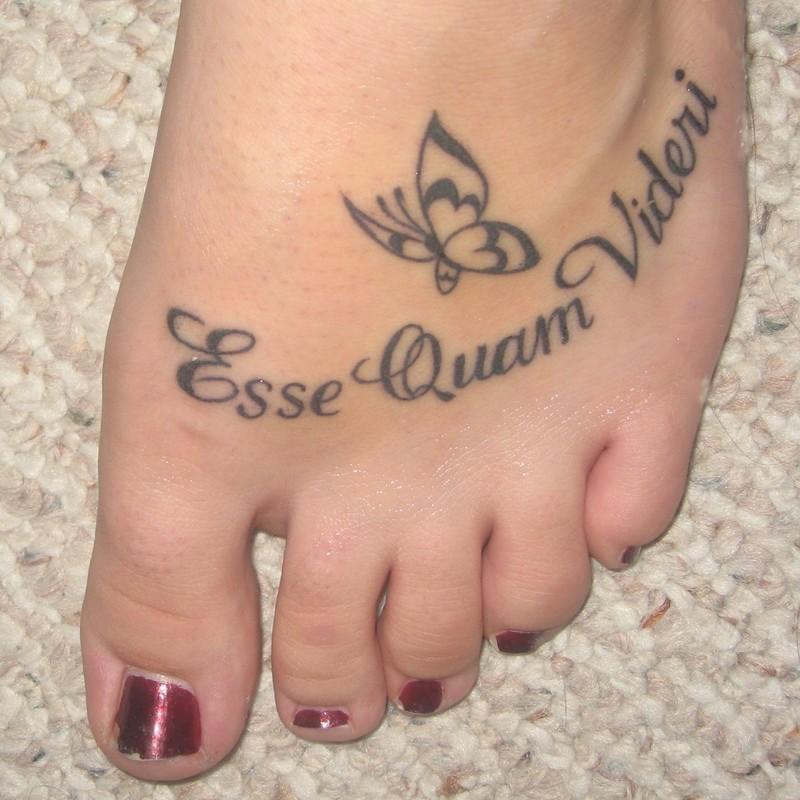 foot tattoos photo - 5