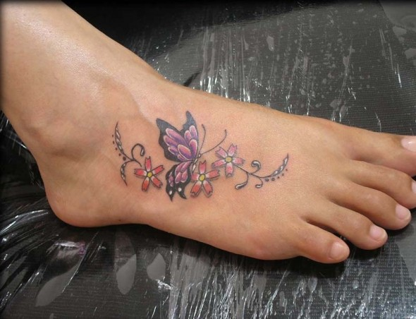 foot tattoos photo - 7