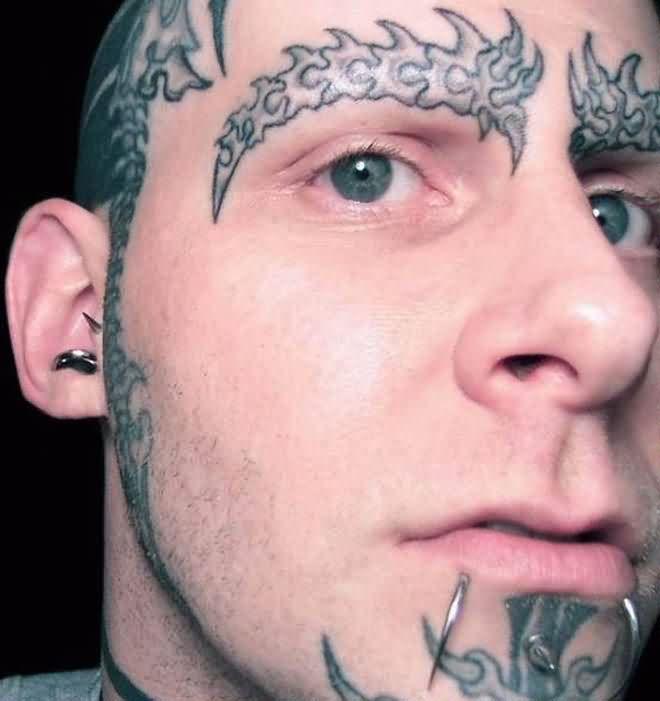 forehead tattoos photo - 14