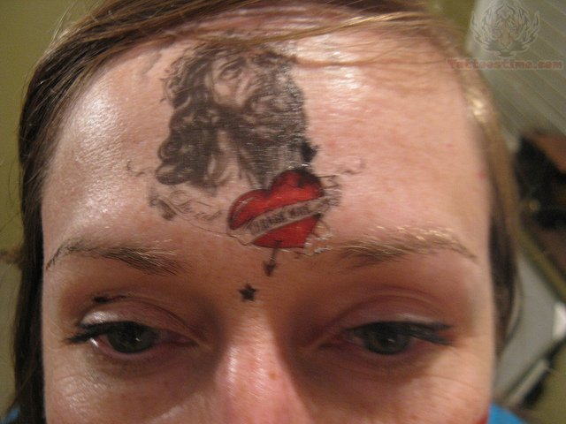 forehead tattoos photo - 15