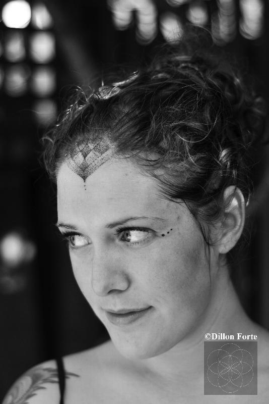forehead tattoos photo - 17
