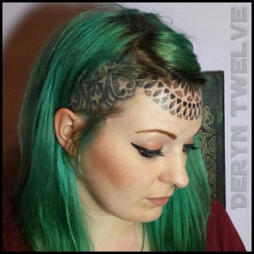 forehead tattoos photo - 18