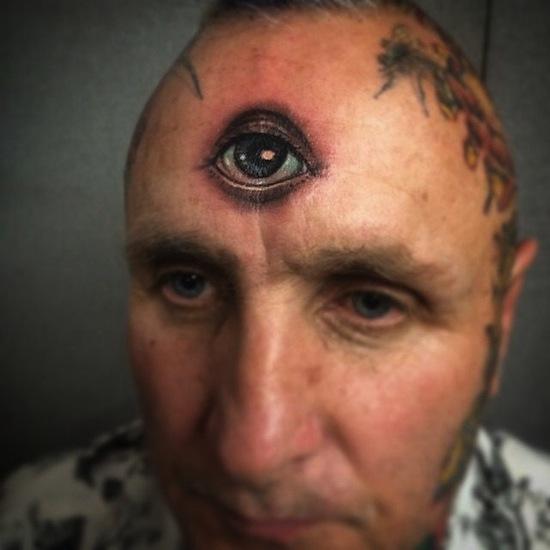 forehead tattoos photo - 3