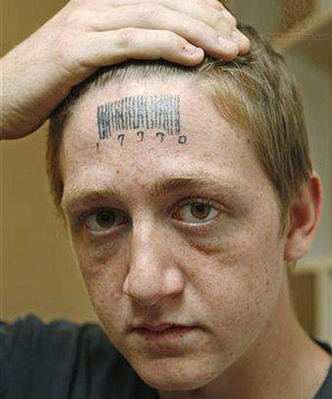 forehead tattoos photo - 6