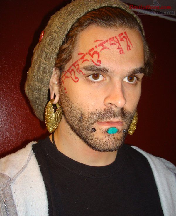 forehead tattoos photo - 8