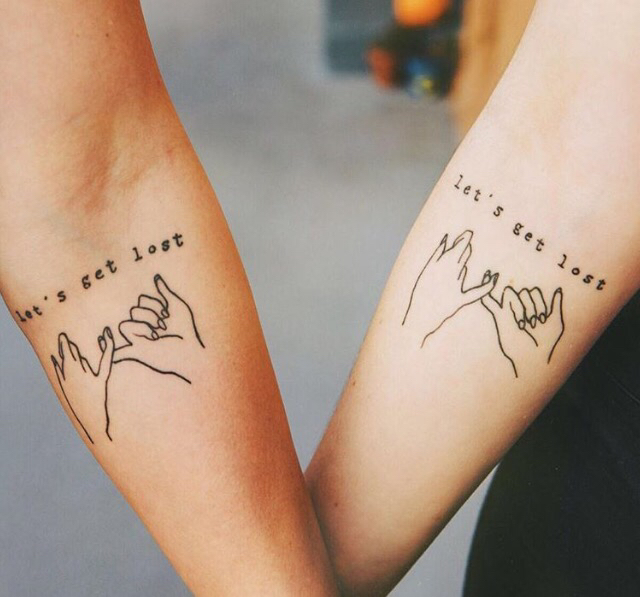 friendship tattoos photo - 15