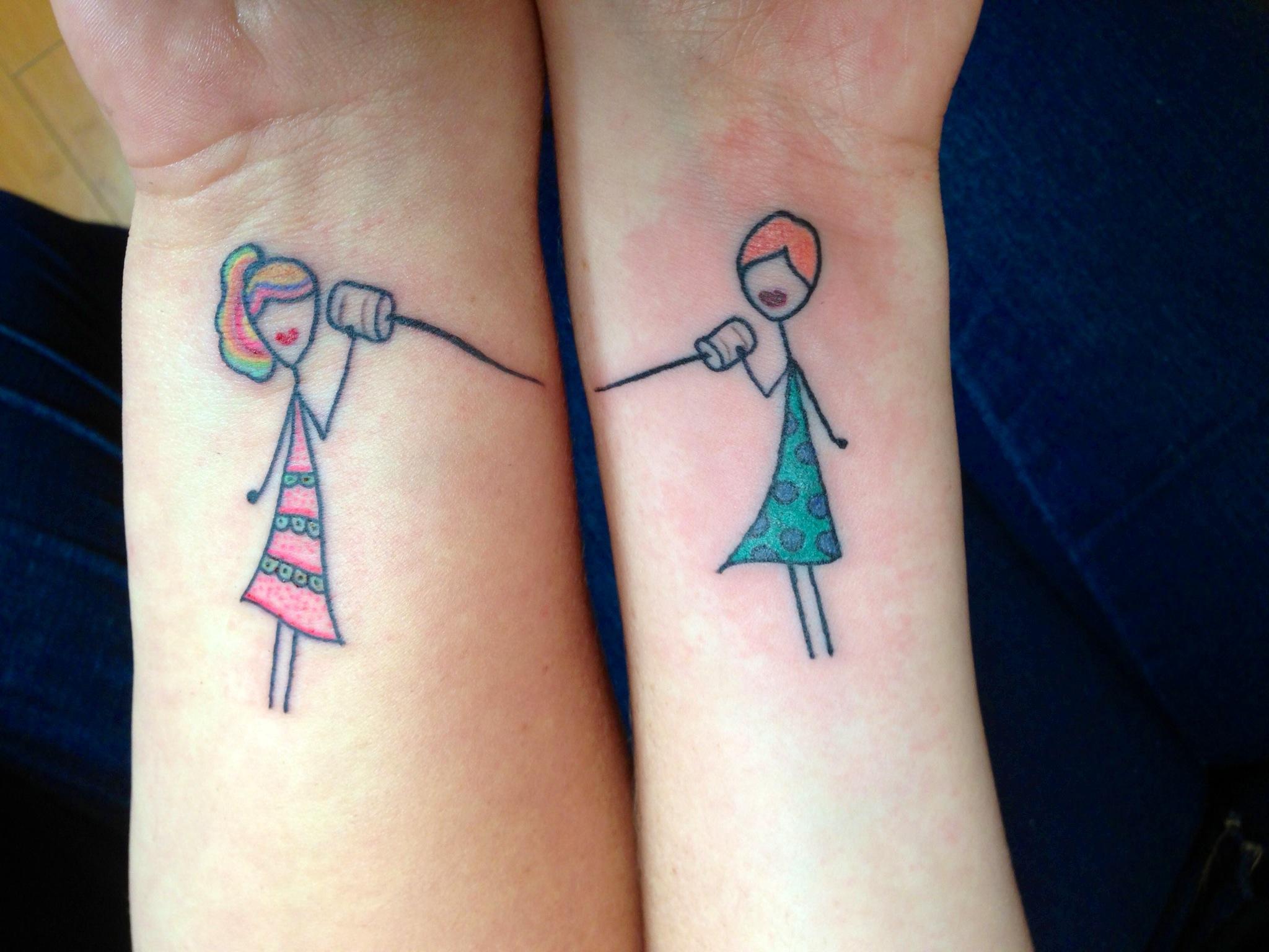 friendship tattoos photo - 36