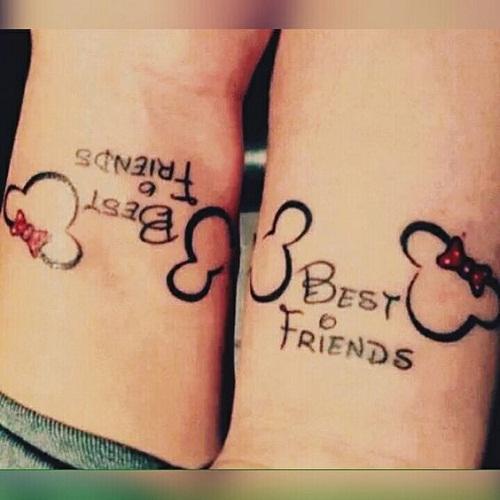friendship tattoos photo - 37