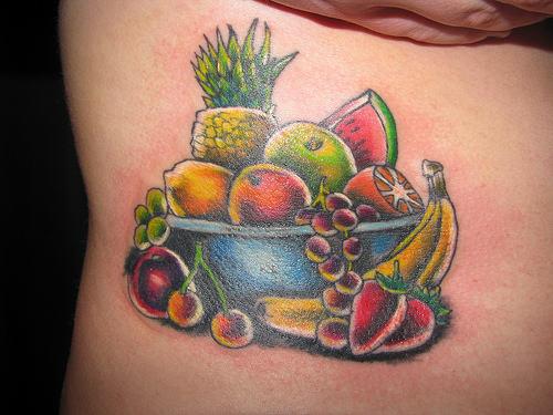 fruit tattoos photo - 11