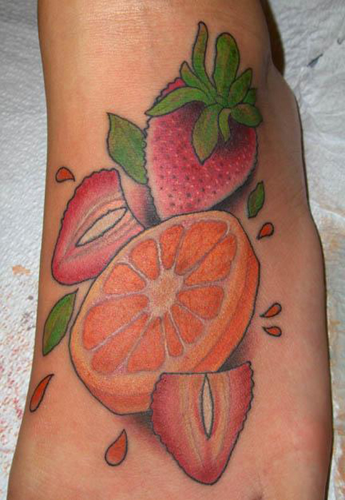 fruit tattoos photo - 2
