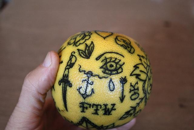 fruit tattoos photo - 22