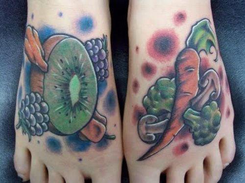 fruit tattoos photo - 23