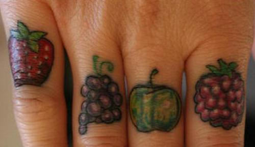 fruit tattoos photo - 24