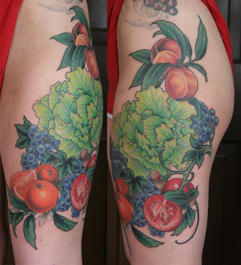 fruit tattoos photo - 29